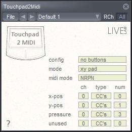 LiveLab Touchpad 2 MIDI VST plugin